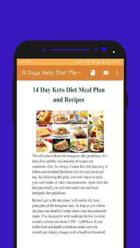 14 Day Keto Diet Meal Plan And Recipes App Report On Mobile Action