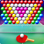 Bubble Shooter Table Tennis