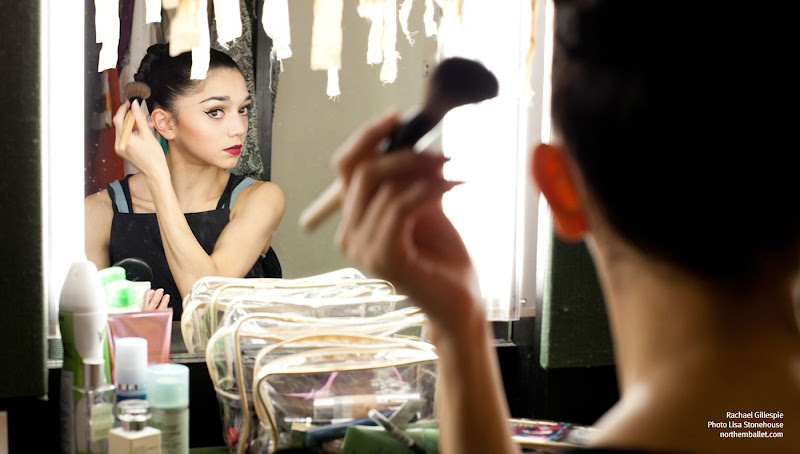 Photo: And another from the dressing room of the stunning Rachael Gillespie (photo Lisa Stonehouse) getting ready for a performance of Cleopatra. The photo's used to illustrate Lauren's latest Tale of Terror! Sorry, mistyped there - I meant Tale of Touring....http://northernballet.com/?q=blogs/lauren-godfrey/14-04-03/tales-touring-hull