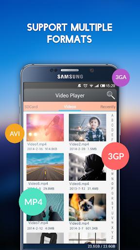 Video Player 3.4 screenshots 1