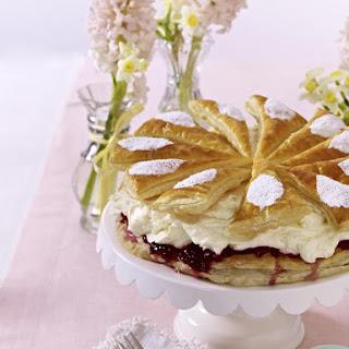 Lemon Mascarpone Cream Tart