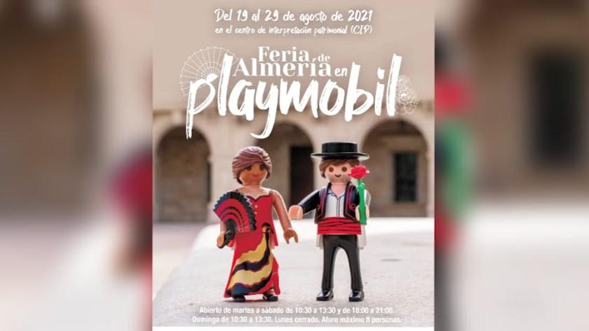 La Feria de Almería Playmobil llega al Centro de Interpretación de Almería.
