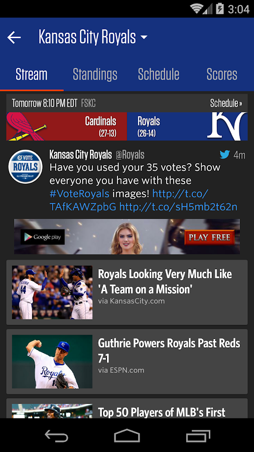 Team Stream by Bleacher Report- screenshot