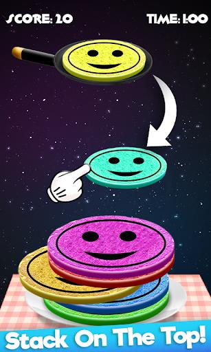 Code Triche Rainbow Pancake Towers - Pile Up Breakfast Game APK MOD screenshots 5