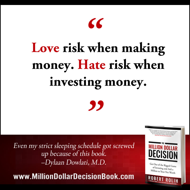 The Million Dollar Decison Quote Love risk