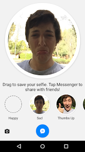 Selfied for Messenger Screenshot