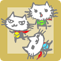 忍猫 ウィジェット・マナーモード icon