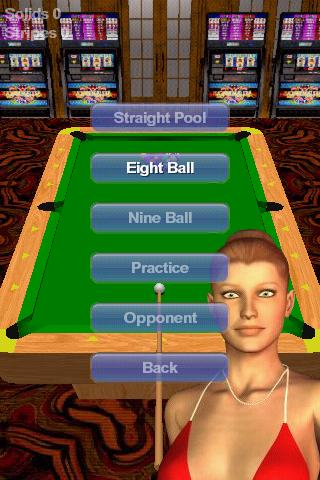 Vegas Pool Sharks Lite screenshot 1