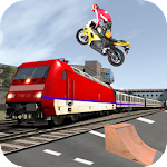 Motorbike Highway Traffic Rider Icon