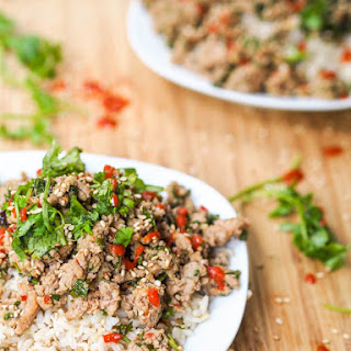 20 Minute Asian Turkey Stir Fry {Gluten-Free, Dairy-Free}