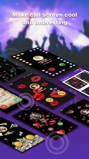 Yo Call Screen & Emoji Contacts-theme changer - náhled