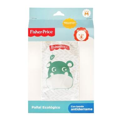 Pañal Ecologico Fisher Price M