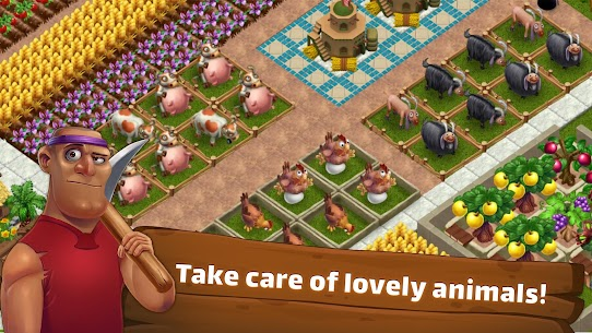 SunCity: City Builder, Farming Mod Apk (Unlimited Storage) 4