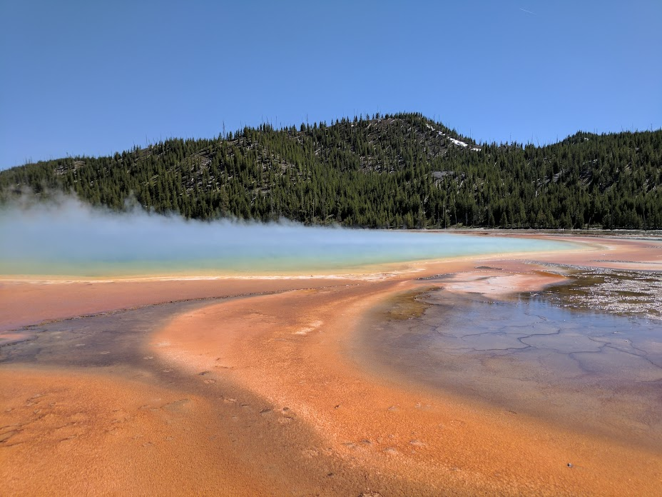 Prismatic Lake - smells like rotten eggs