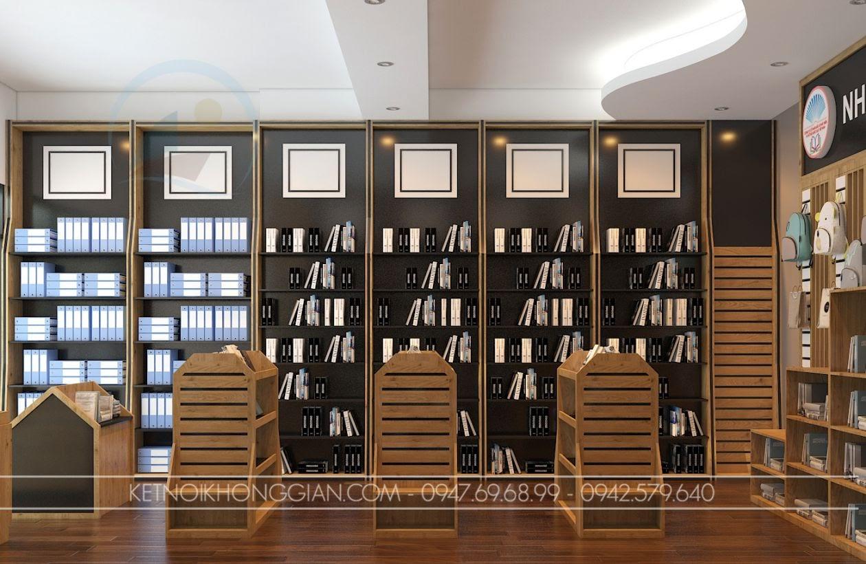 trang trí nhà sách đẹp