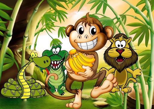 Monkey Run Banana jump