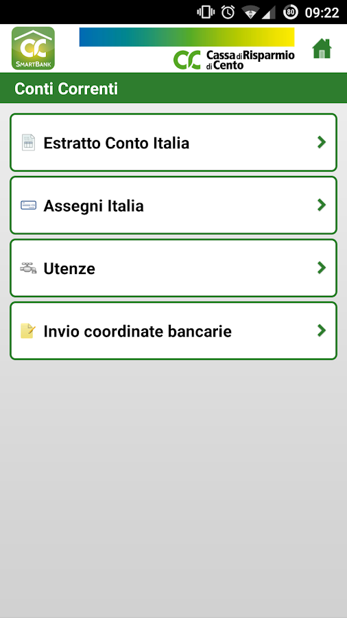 CRCento SmartBank- screenshot