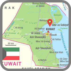 Kuwait Map Android Apps On Google Play - Kuwait map