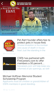 CSFA Official App- screenshot thumbnail