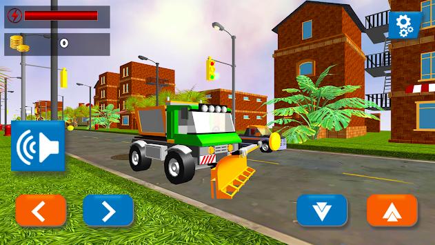 Toy City Car Subway Traffic Racing apk screenshot