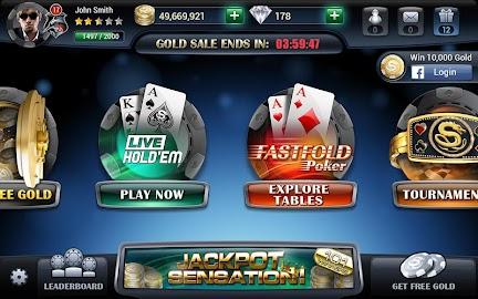 Live Hold'em Pro – Poker Games Screenshot 2