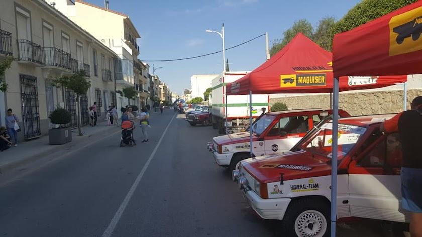 La avenida de la Virgen del Socorro, una de las principales arterias de Tíjola que también contará con cámaras.
