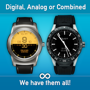 Watch Face - Minimal & Elegant for Android Wear OS- screenshot thumbnail