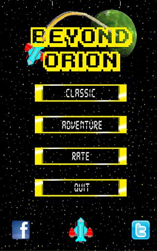 Beyond Orion