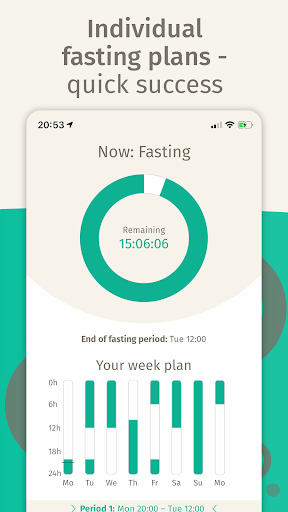 Screenshot for BodyFast Intermittent Fasting: Coach, Diet Tracker in United States Play Store