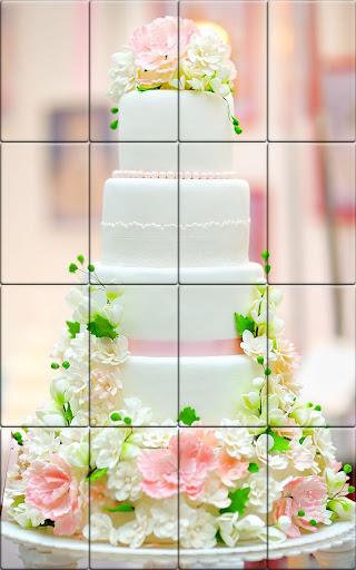 Tile Puzzle Wedding Cake apkpoly screenshots 4