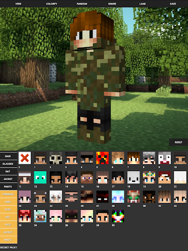 Custom Skin Creator For Minecraft 4.5 screenshots 11