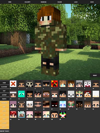 Custom Skin Creator For Minecraft APK Download Apkindocoid - Skins para minecraft 1 8 8