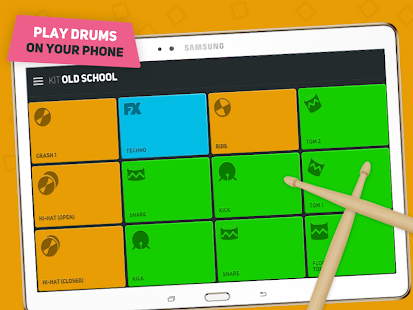 SUPER PADS DRUMS - Become a Drummer Screenshot