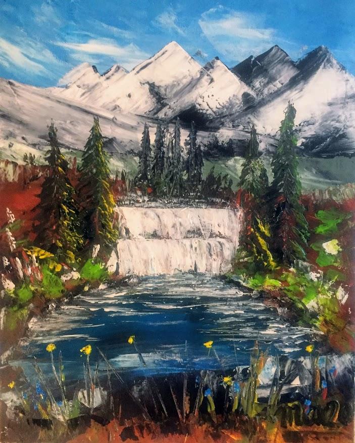 Cascades alpestres
