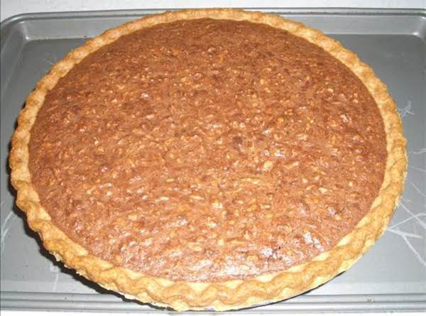 Fudge Butter Pecan Pie Recipe