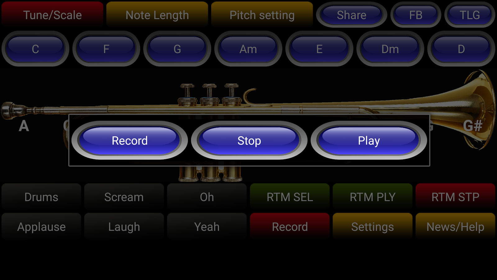Jazz Trumpet Pro- screenshot
