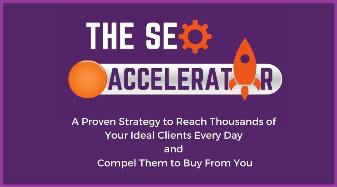 The SEO Accelerator - a proven SEO strategy