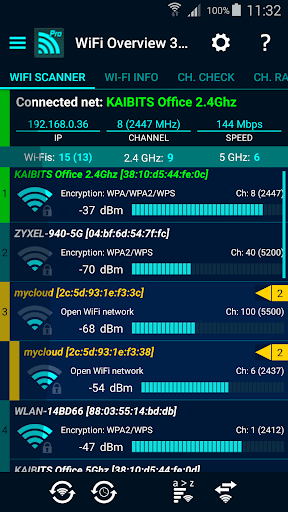 WiFi Overview 360 Pro v3.50.02