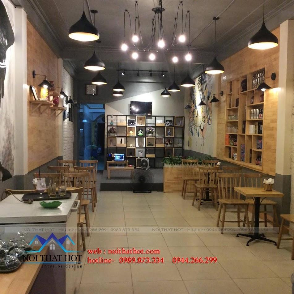 thi công quán cafe