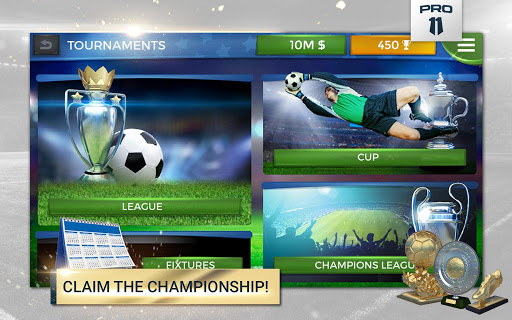 Pro 11 - Soccer Manager Game apkmr screenshots 10