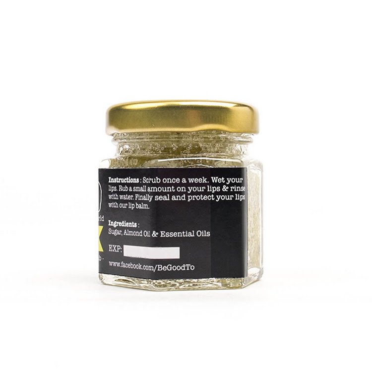Afternoon Tea - Earl Grey + Orange Lip Scrub/ Exfoliator