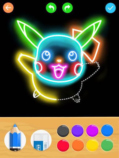 Draw Glow Cartoon - How to draw 1.0.9 screenshots 13