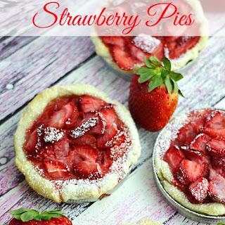 Mini Strawberry Pies Recipe