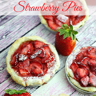 Mini Strawberry Pies.