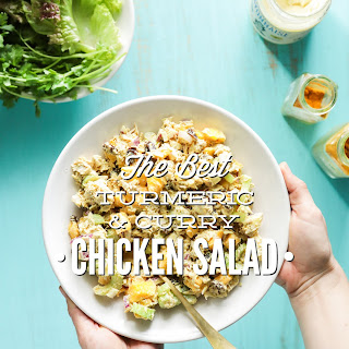 Turmeric and Curry Chicken Salad.