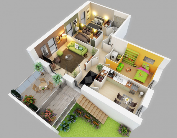3d Home Designing 3D Home Design screenshot3D Home Design Android