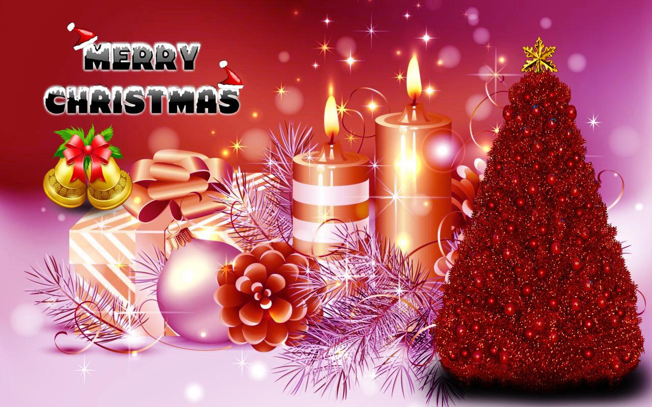 Mery Christmas HD wallpaper for download