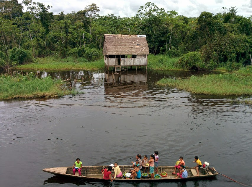 Local People - Amazon River