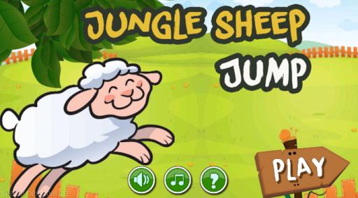 Jungle Sheep Jump