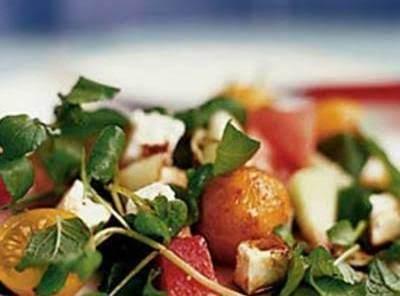 Summer Melon Salad With Feta & Mint Recipe